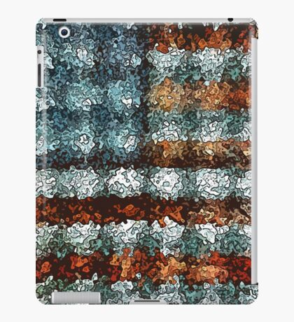 Artistic American Flag iPad Case/Skin