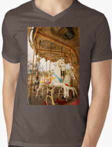 Ride the Wild Pony Mens V-Neck T-Shirt