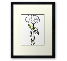 Hung From Heaven Framed Print