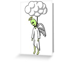 Hung From Heaven Greeting Card