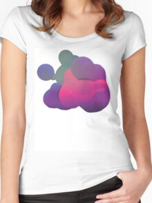Blob 01 Women's Fitted Scoop T-Shirt