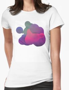 Blob 01 Womens Fitted T-Shirt