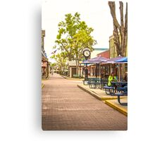 Old Town Kissimmee Canvas Print