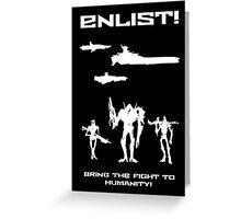 Enlist! Greeting Card