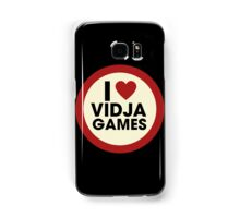 I love video games Samsung Galaxy Case/Skin
