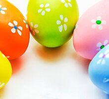 Colorful Easter Eggs by MMPhotographyUK