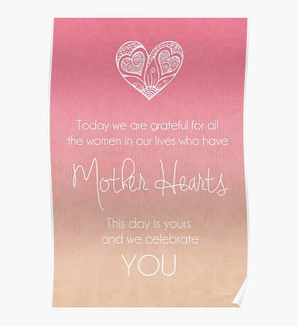 Mother's Day Card Poster