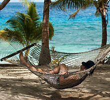 Relaxing in a hammock by photoeverywhere