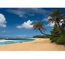 Sunset Beach Hawaii Photographic Print