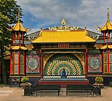 The Pantomime Theatre in TIVOLI Gardens Copenhagen by © Kira Bodensted