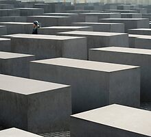 Memorial to the Murdered Jews of Europe by photoeverywhere