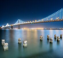 Bay Bridge-San Francisco by Jerome Obille