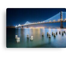 Bay Bridge-San Francisco Canvas Print