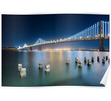 Bay Bridge-San Francisco Poster