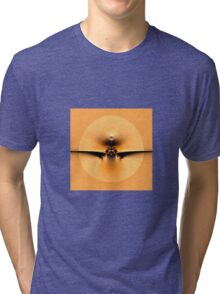 Fly to the Sun on Golden Wing Tri-blend T-Shirt