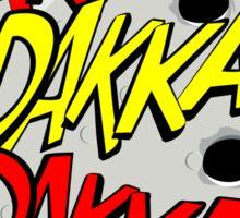 Action stations – dakka, dakka, dakka! Sticker