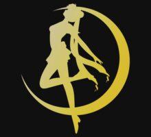 Sailor Moon silhouette by aguirreink
