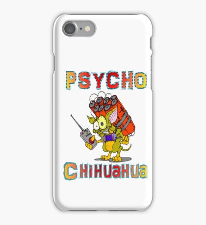 Psycho  Chihuahua iPhone Case/Skin