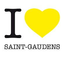 I ♥ SAINT-GAUDENS Photographic Print
