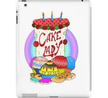 Cake lady iPad Case/Skin