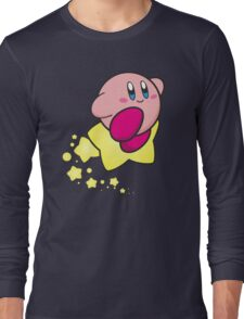 Ride on Kirby Long Sleeve T-Shirt
