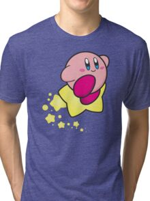 Ride on Kirby Tri-blend T-Shirt