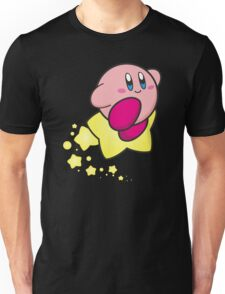 Ride on Kirby Unisex T-Shirt