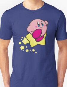 Ride on Kirby Unisex T-Shirt