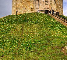 York Castle Keep by Tom Gomez