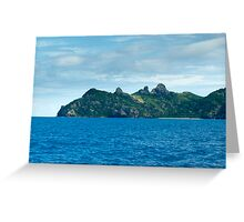 Yasawa Islands Fiji Greeting Card