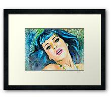 Katy Perry Framed Print