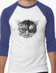 Owl Day & Owl Night Men's Baseball ¾ T-Shirt