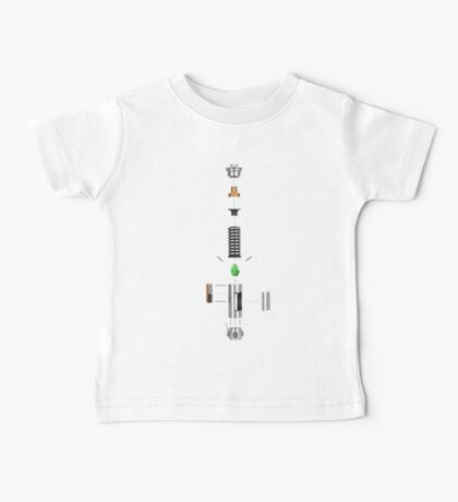 Lightsaber Cross-section Baby Tee