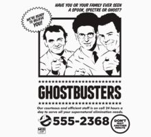 Ghostbusters by Mos Graphix