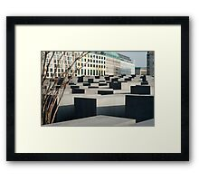 Memorial to the Murdered Jews Framed Print