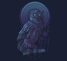 Owl Nouveau by qetza