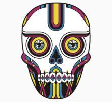 CMYK Skull by qetza