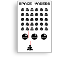 Space Vaders Canvas Print