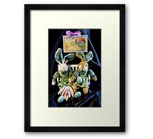 Green Bunnies For Easter Framed Print