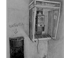 Phone vintage by drawingpencil
