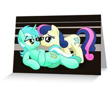 Lyra and Bonbon Phone Case Greeting Card