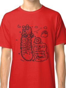 Pickles Can Be Very Kawaii! Classic T-Shirt