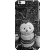 Black and White Bumble Bee iPhone Case/Skin