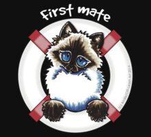 Ragdoll/Ragamuffin : First Mate Kids Tee