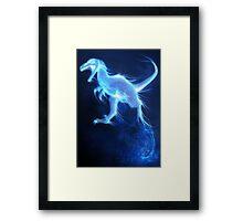 Deinonychus Patronus Charm Framed Print