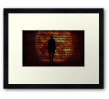 The greatest story never told. Framed Print