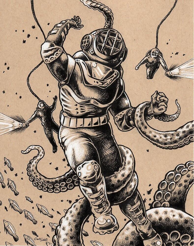 Danger Dive by Bryan Collins