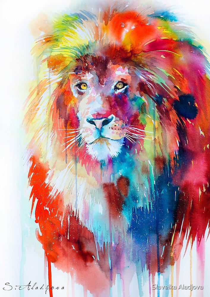 Lion by Slaveika Aladjova