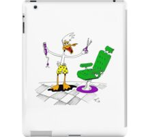 Barber Shop (shave & a haircut) iPad Case/Skin