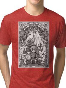 The Legend - GrayScale Tri-blend T-Shirt